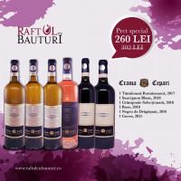 Pachet 6 sticle Crama Cepari