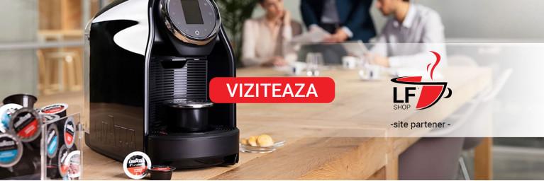 Partener - Serviciu de comodat gratuit pentru masinile de cafea Lavazza - www.lfshop.ro