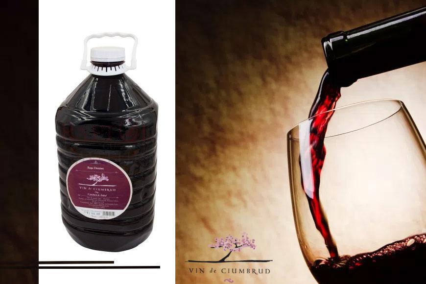 Vin rosu demisec Ciumbrud 5L
