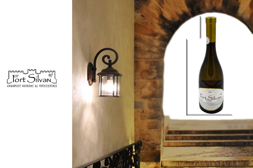 Vin alb sec Fort Silvan Riesling