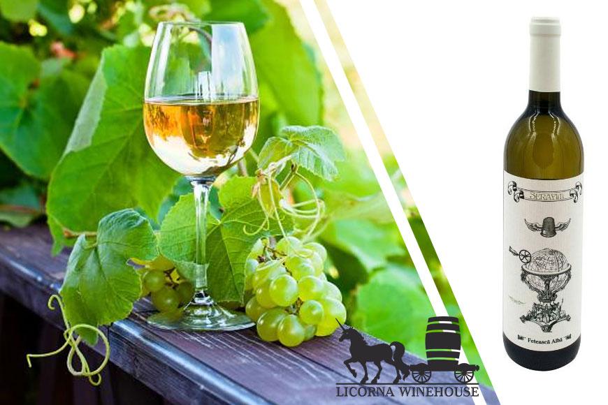 Vin alb sec Serafim Feteasca Alba