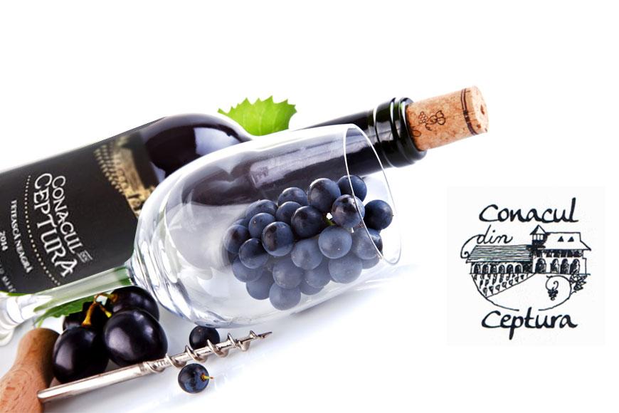 Vin rosu sec Conacul din Ceptura Feteasca Neagra
