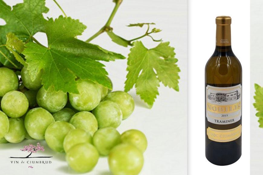 Vin alb sec Nobilis Traminer