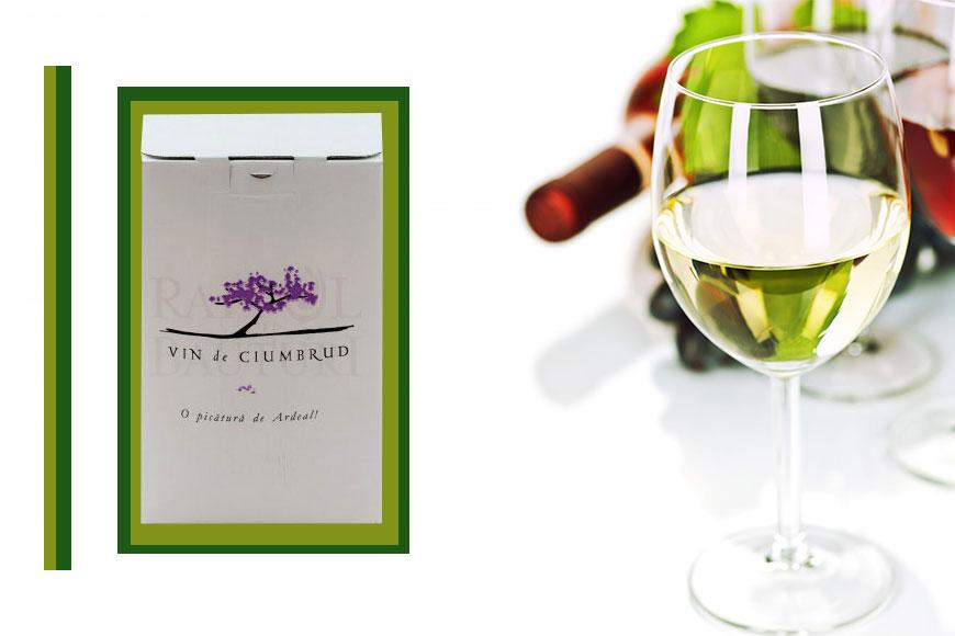 Vin alb sec Ciumbrud Baginbox 5L