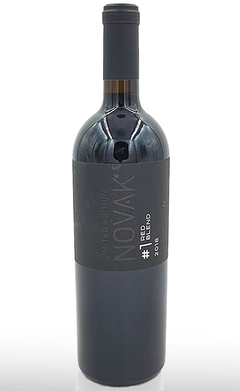 VIN BLACK RED BLEND #1 NOVAK