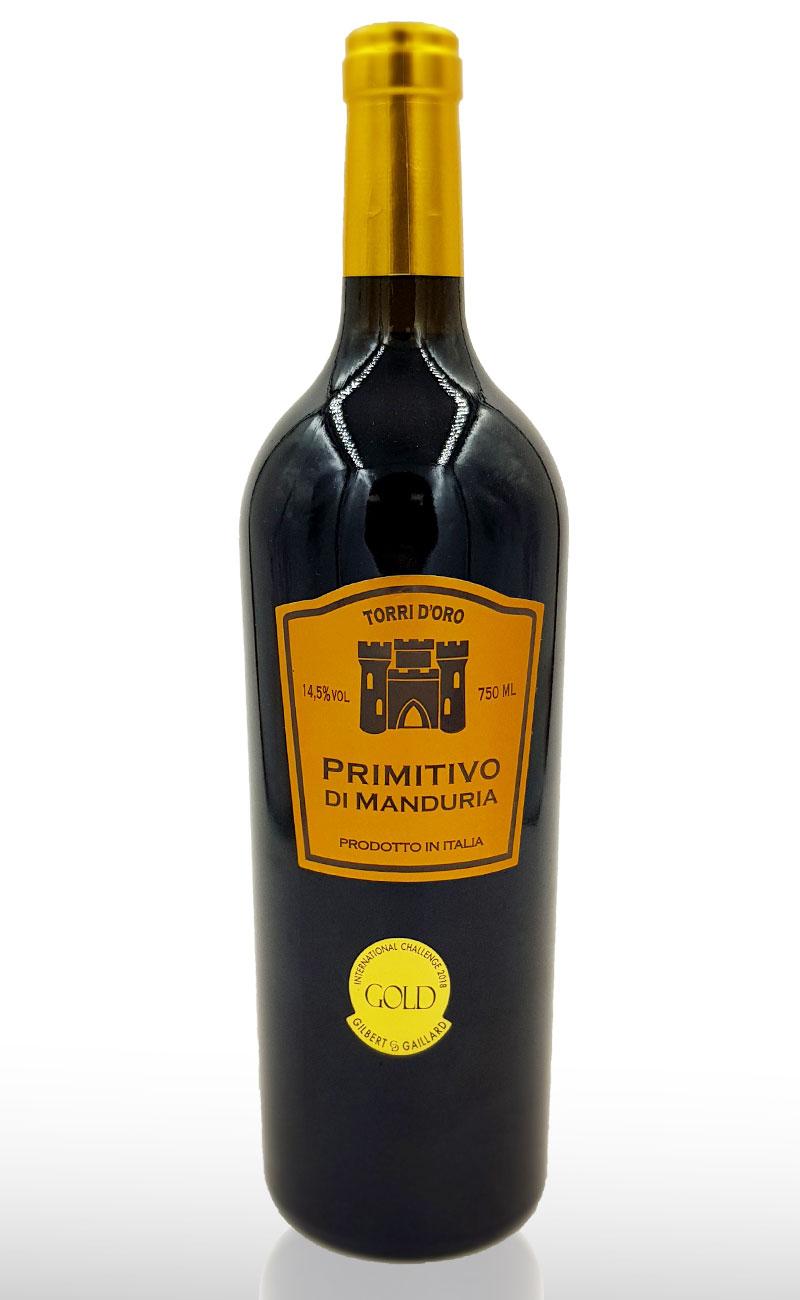 Vin rosu, Primitivo Di Manduria