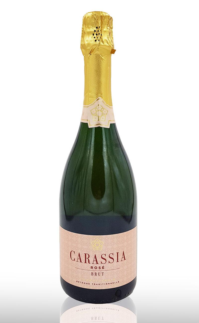 Vin spumant roze Vinca Carassia Rose, Crama Carastelec