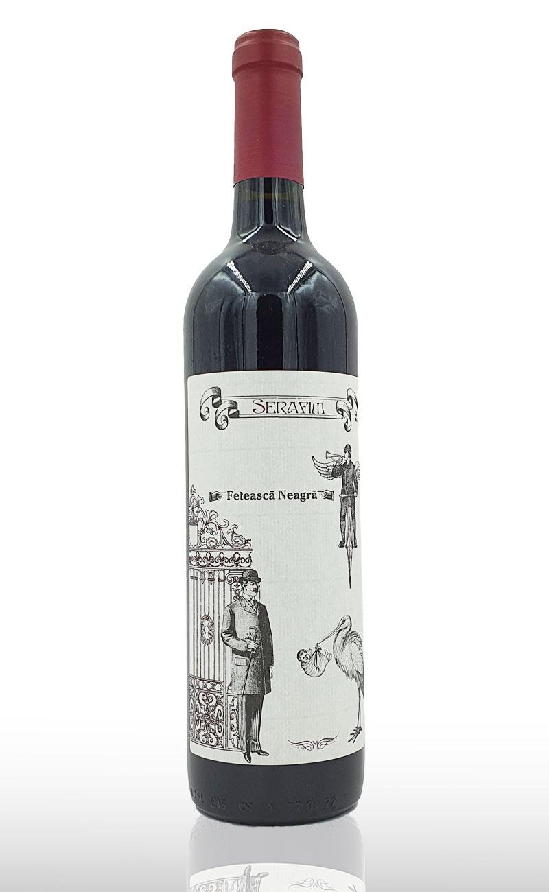Vin rosu sec Serafim Feteasca Neagra