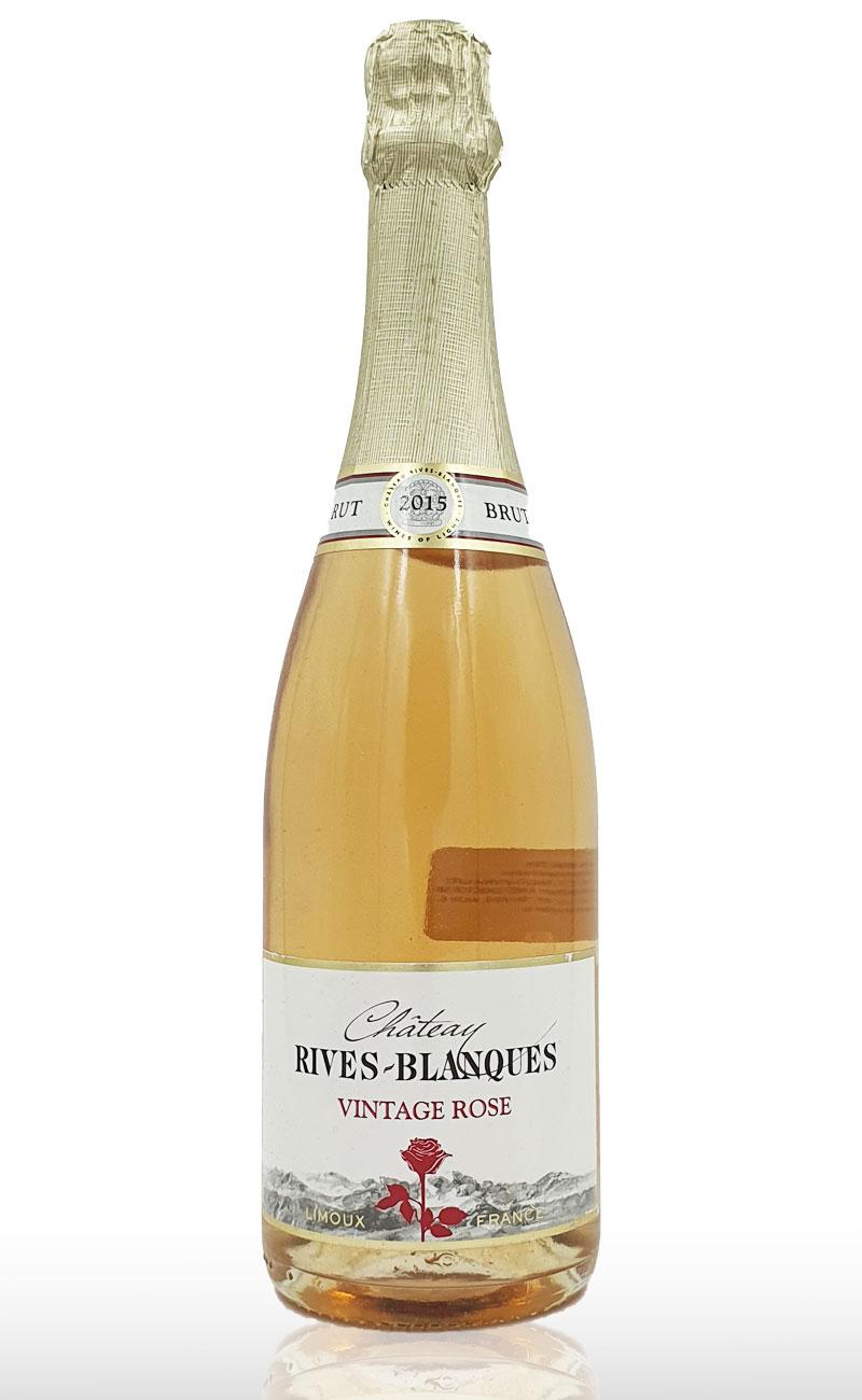 Vin Spumant Roze Rives Blanques, Cremant Limoux Vintage Rose