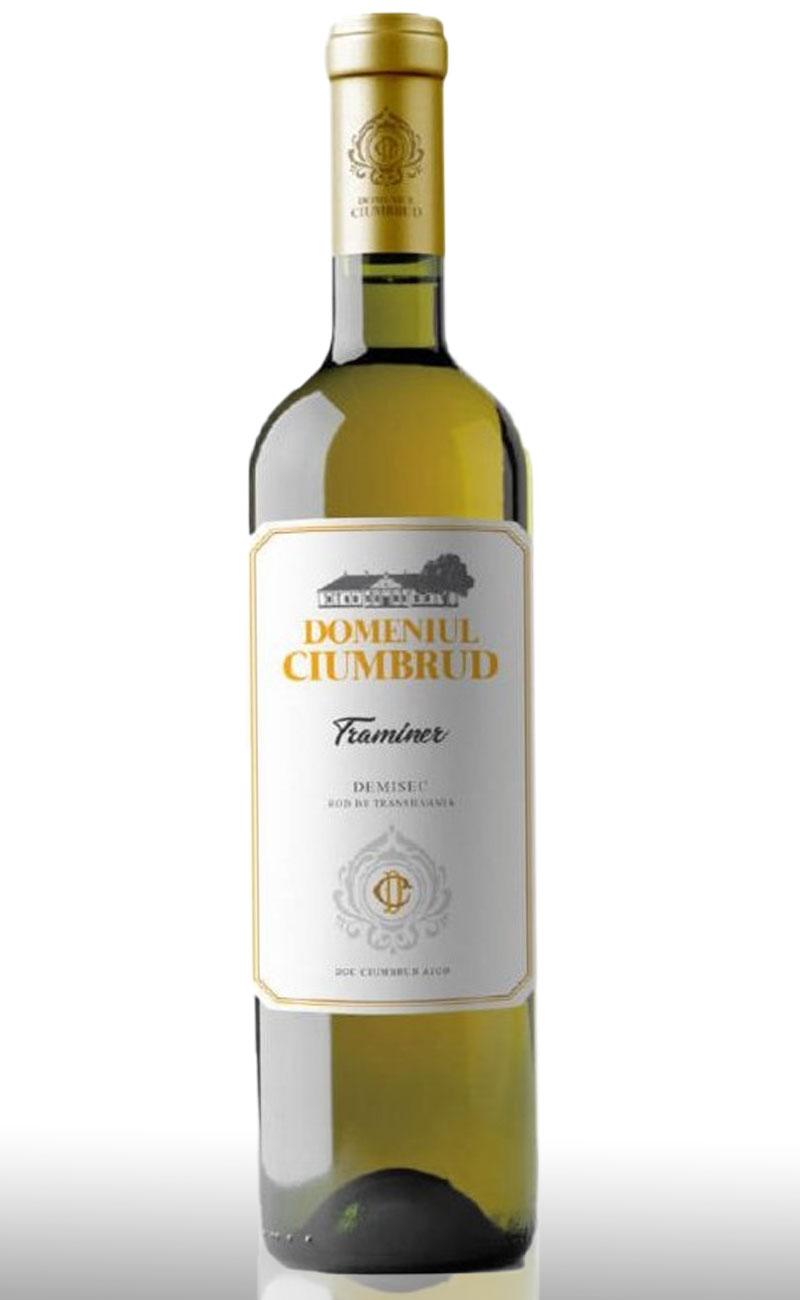 Vin alb, Domeniul Ciumbrud Traminer