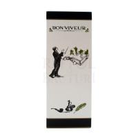 Vin alb sec Bon Viveur Chardonnay si Sauvignon Blanc cutie