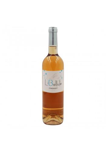 Vin roze sec Le Rose de Bessan, Cinsault Libelule