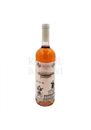 Vin roze sec Serafim Cabernet Sauvignon cu Merlot si Shyrah